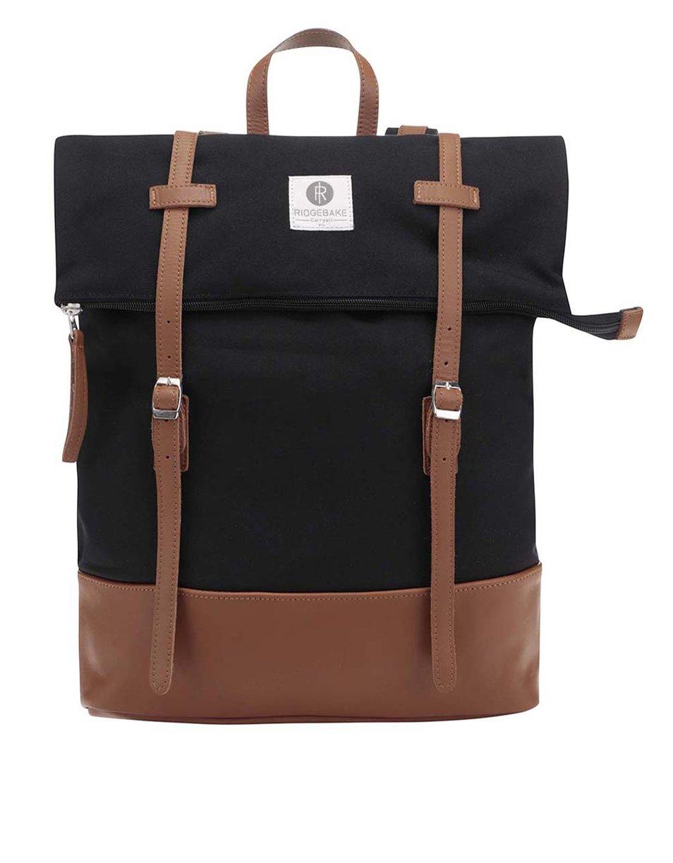 a29ef167e2 Černý stylový unisex batoh s nastavitelnou výškou – Ridgebake Mid Rolling